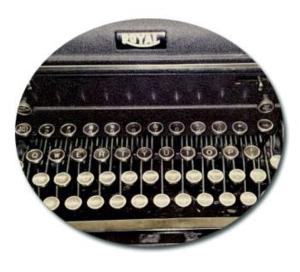 typewriter-circle